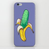 iPhone & iPod Skin featuring Banana Pickle by ronnie mcneil