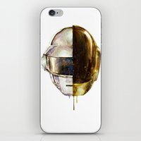 DAFTPUNK II iPhone & iPod Skin