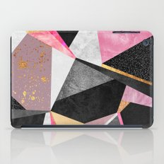 Geometry / Pink iPad Case