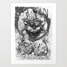 The Prince of Lies Art Print