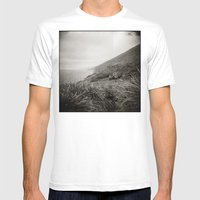 { The Earth We Walk On } Mens Fitted Tee White SMALL