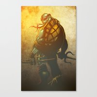 A little too Raph! Canvas Print
