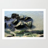 Endless Summer Beach  Art Print