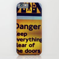 iPhone & iPod Case featuring Danger Signs by Efua Boakye