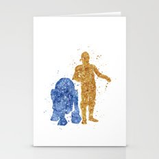 C3PO And R2D2 Star . War… Stationery Cards