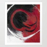 Smolder Art Print