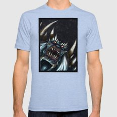 Doomsday Mens Fitted Tee Tri-Blue SMALL