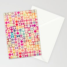 Rainbow Quilt 01 Stationery Cards