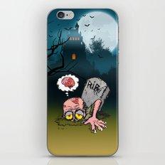 I'll be back now iPhone & iPod Skin