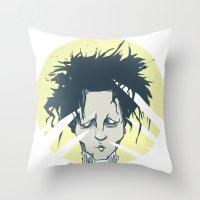 Edward Scissorhands Throw Pillow