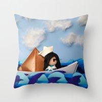 Troy Marinera ~ Sailor Throw Pillow