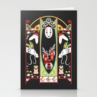 Spirited Deco Stationery Cards