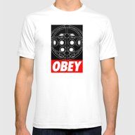OBEY - Big Daddy Mens Fitted Tee White SMALL
