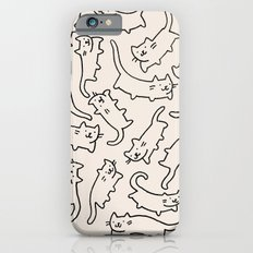 Floating Cats iPhone 6 Slim Case