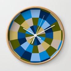 A breeze of Greece Wall Clock