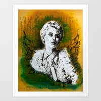 Wing Series Three (Angel… Art Print