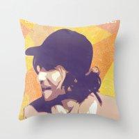 Baseball Fields Forever Throw Pillow
