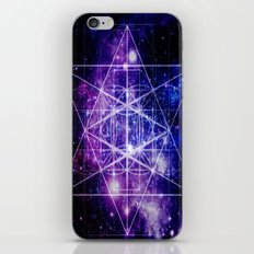 Flower of Life : Sacred Geometry iPhone & iPod Skin