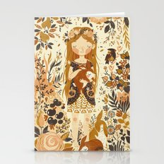 The Queen of Pentacles Stationery Cards