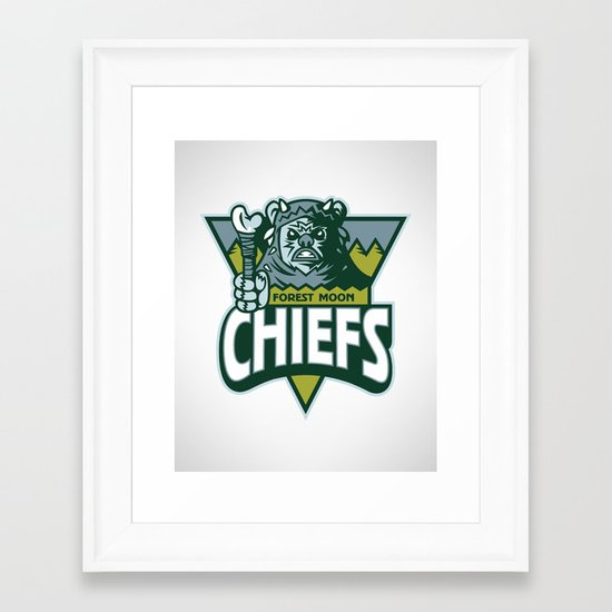 Forest Moon Chiefs Framed Art Print