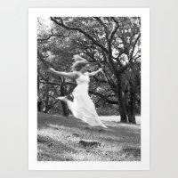 She Fell From the Sky Art Print