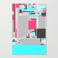 Red Mint Canvas Print