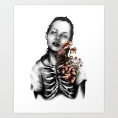 Heartbeats // Illustration Art Print