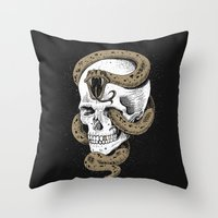 The Dark Mark of You-Know-Who Throw Pillow