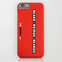 iPhone & iPod Case featuring BEARD + WEIRDO = BEARDO. by The Beardly