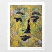 VENUSIAN FACE15 Art Print