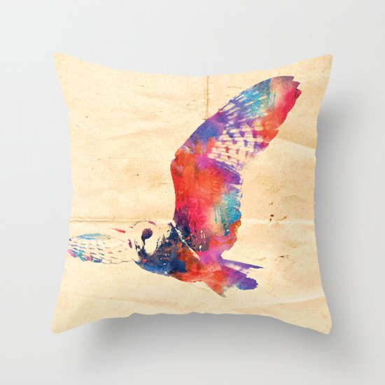 Its a hoot  Throw Pillow