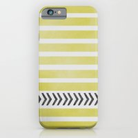 iPhone & iPod Case featuring STRIPES AND ARROWS by Allyson Johnson