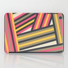 Colorful Stripes iPad Case