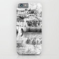 Terrasson village - Black ink iPhone 6 Slim Case