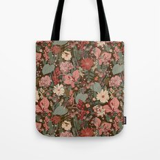 Garden Adventure Print Tote Bag