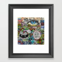 If They Don't Let Us Dre… Framed Art Print