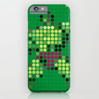 iPhone & iPod Case featuring Mr Green 1 by Triplea