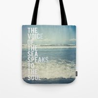 The Voice Of The Sea Tote Bag