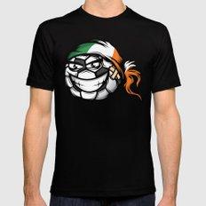 Football - Ireland Mens Fitted Tee SMALL Black