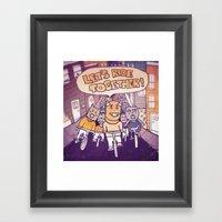 Let's Ride Together!  Framed Art Print