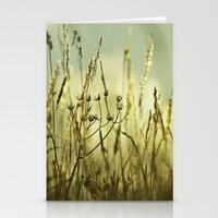 Aqua Meadow Stationery Cards