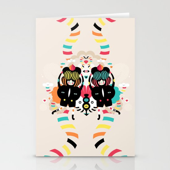 It's a happy dance Stationery Card