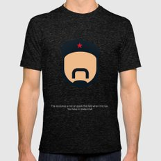 FC - Che Mens Fitted Tee Tri-Black SMALL