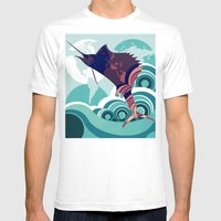 Seven Seas Explorer  Mens Fitted Tee White SMALL