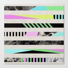Crazy Lines - Pop Art, G… Canvas Print