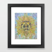 Anahata - Heart Chakra Framed Art Print