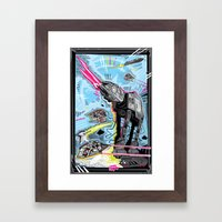 Battle Of Hoth Framed Art Print