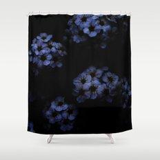 Blue Night Shower Curtain