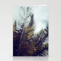 Palm Sky II Stationery Cards