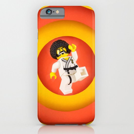 Afro Karate Guy iPhone & iPod Case